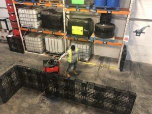 A1 Exp Operators Pedestrian Pallet Truck