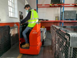 A2 Refresher Ride on Pallet Truck