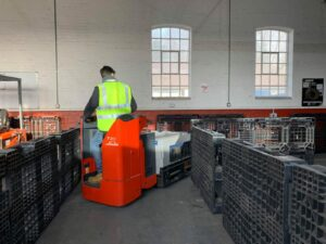 A2 Experienced Operator Ride on Pallet Truck