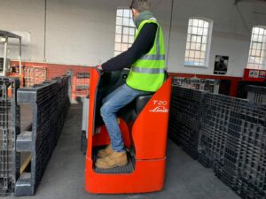 A2 Novice Ride on Pallet Truck