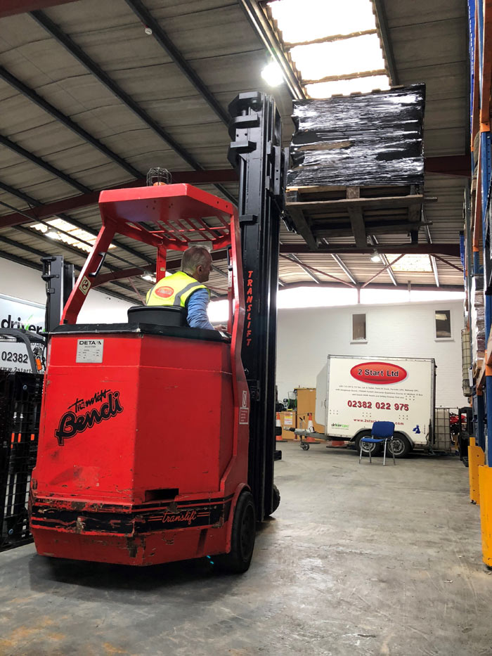 Bendi Pivot Steer Conversion Course, Portsmouth & Southampton