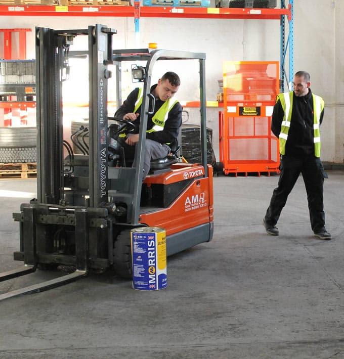 Forklift Instructor Direct Entry