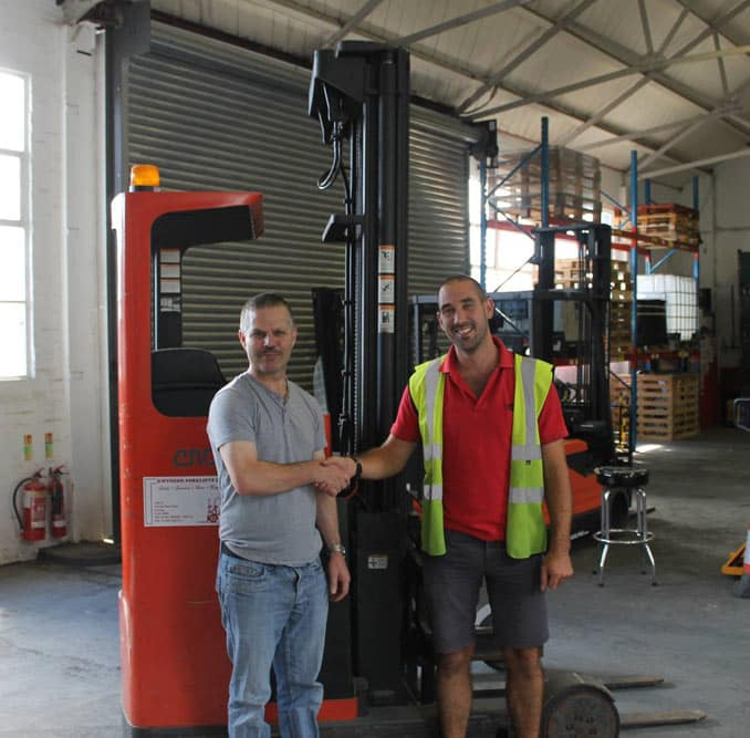 Reach Forklift Refresher Course, Portsmouth, Southampton, Reading and Worthing.