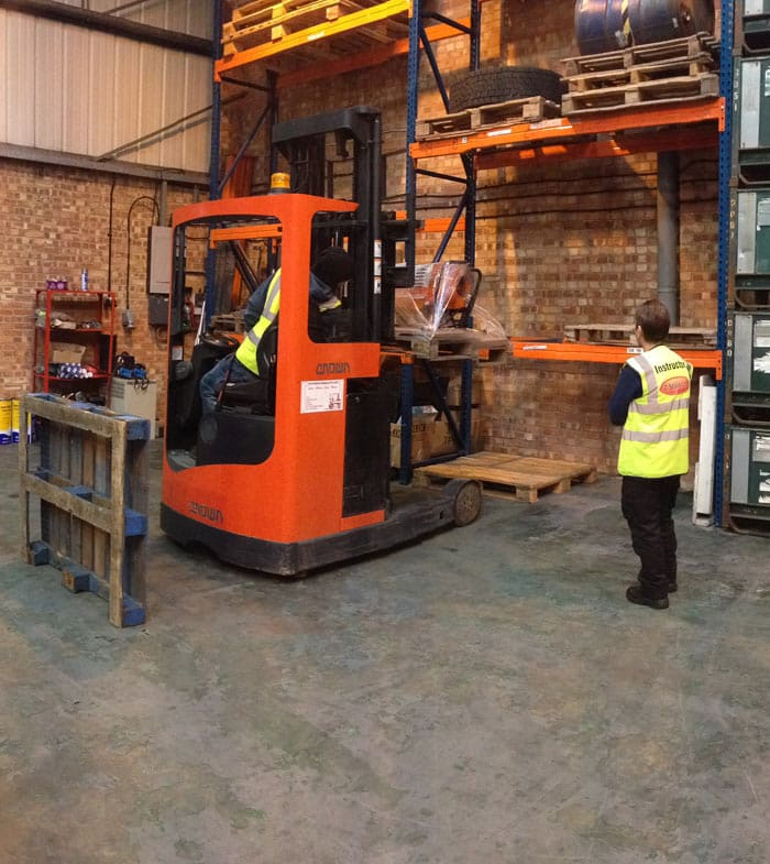 Reach Forklift Conversion Course, Portsmouth, Southampton, Reading and Worthing