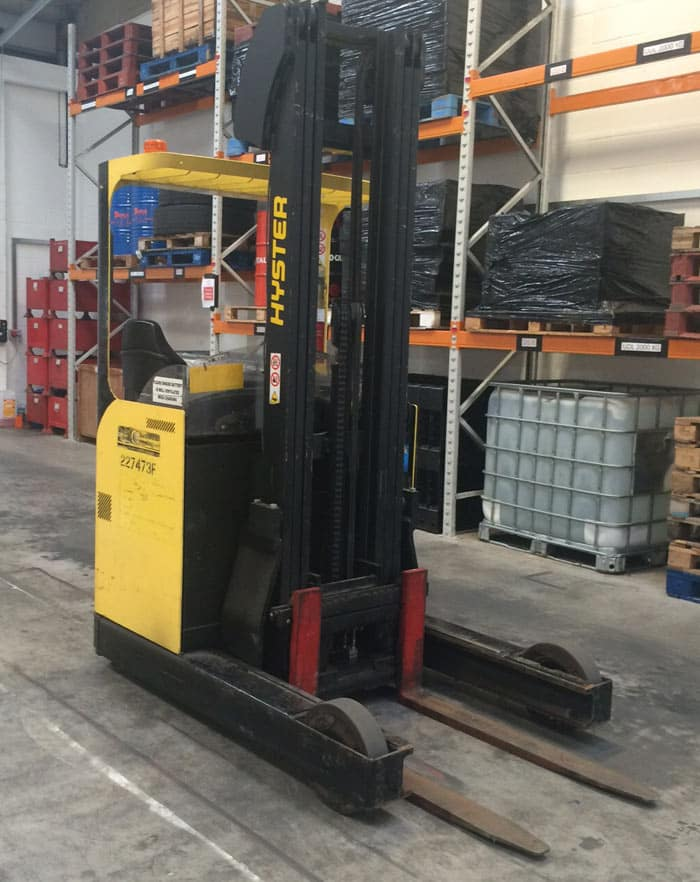 Reach Forklift Novice Course, Portsmouth, Southampton, Reading and Worthing.