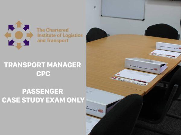 Transport Manager CPC Passenger casestudy exam