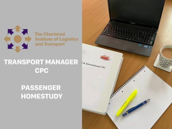 Transport Manager CPC Passenger hOMESTUDY