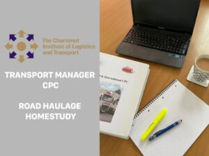 Transport Manager CPC Road Haulage hOMESTUDY