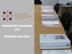 Transport Manager CPC Road Haulage or Passenger Revision Day