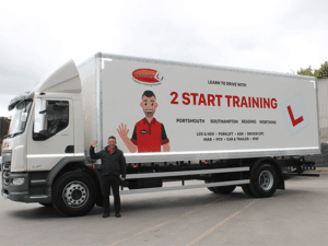 HGV class 2 training course 5 days