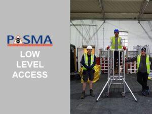 PASMA Low Level Access Training Courses