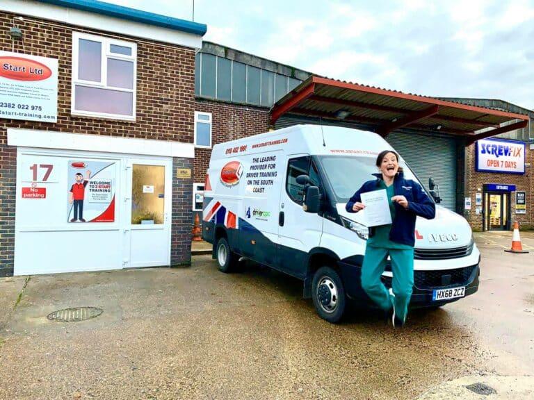 Ambulance Driver Training Passed Practical Training
