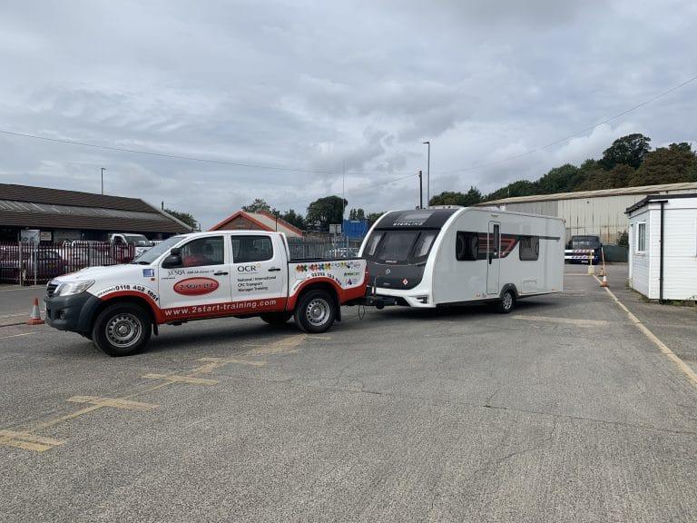Caravan Driver Training