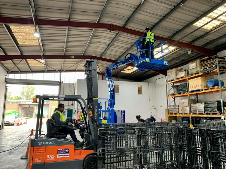 Gaining your forklift licence