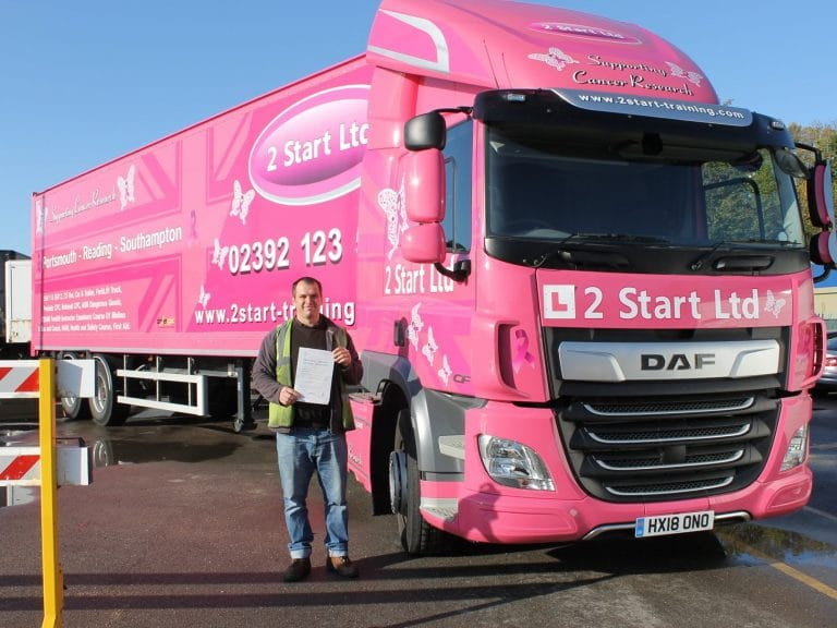 Our Portsmouth HGV Training Facilities