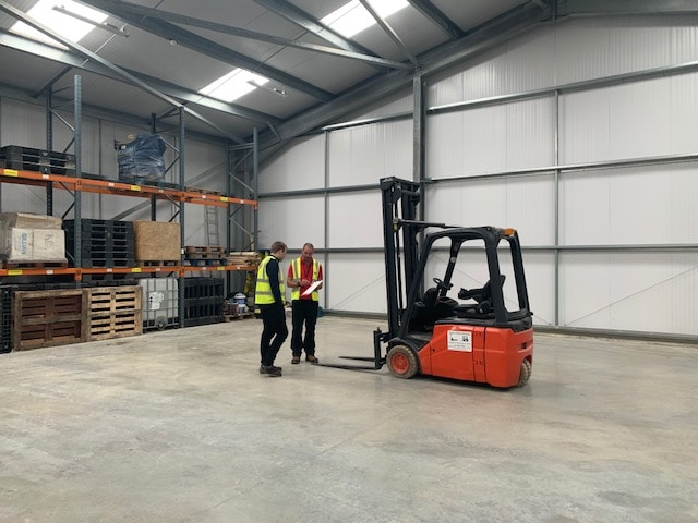 Our Worthing forklift training facilities