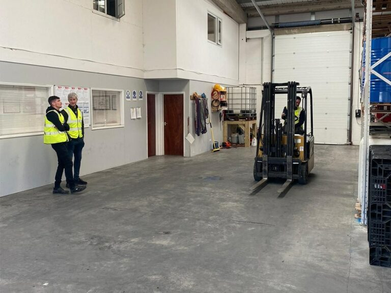 Gaining your forklift licence Reading