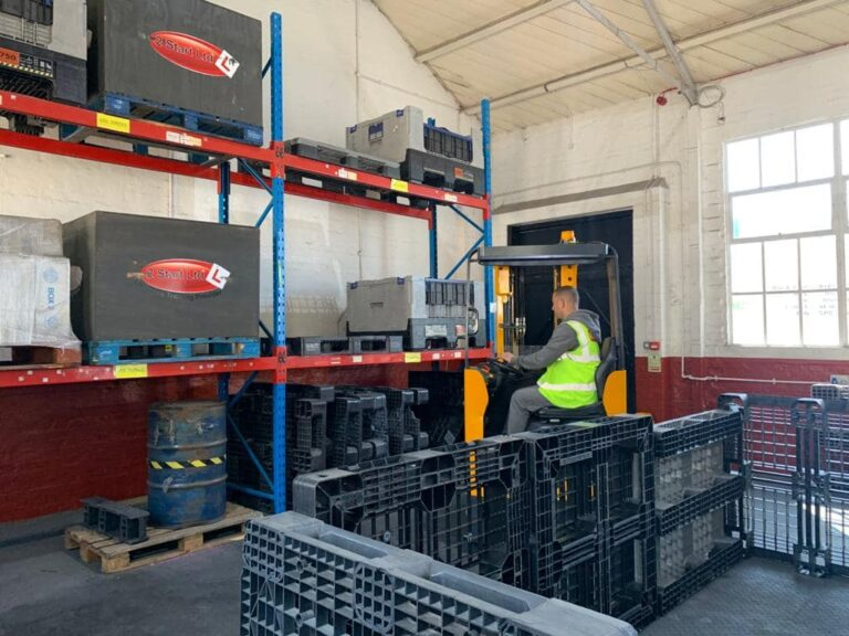 Our Portsmouth forklift training facilities