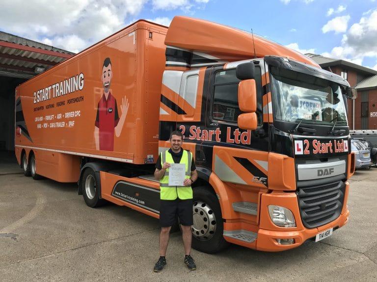 Gaining your LGV licence Southampton