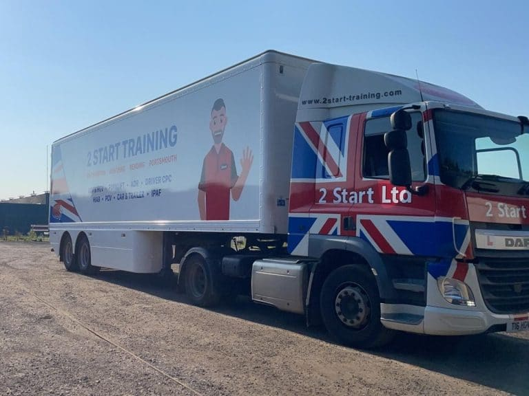 Our Worthing LGV Training Facilities